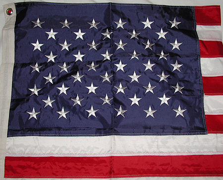 Ruffin 4 X 6 USA Nylon Flag