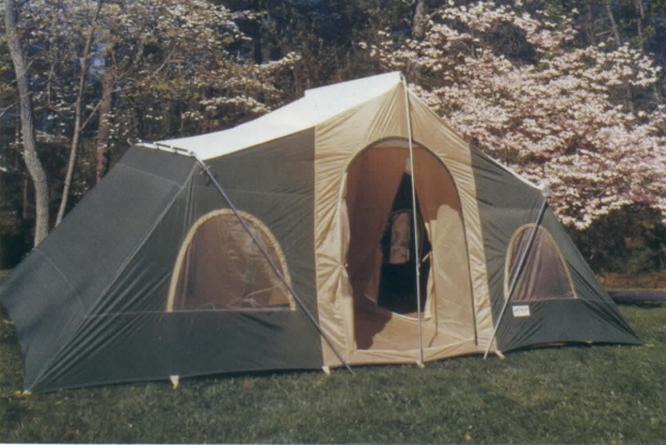 Three Room Cabin Tent Height 90 Inches