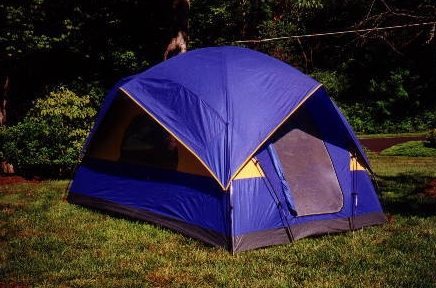 Geo Cabin Tent With Double Ridges 8' X 10'