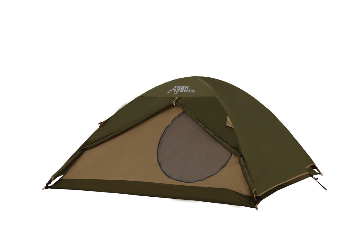 4-Season Hi-Tech Dome Tent With Aluminum Poles 7 X 7 Grn/Tn