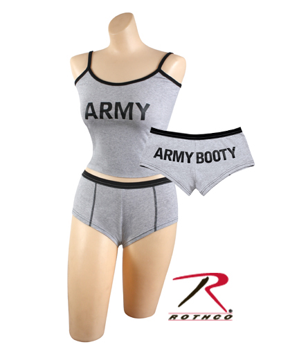 Ladies ARMY Tank - Be Sure to Order Matching Shorts