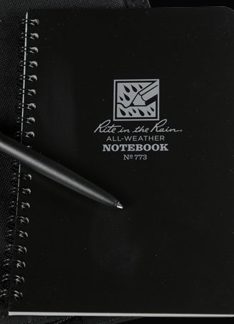 Top Maxi Spiral Black Notebook
